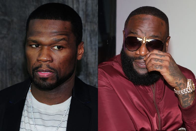 "EXCLUSIVE: Coronavirus Won't Stop 50 Cent""s Sextape War With Rick Ross"