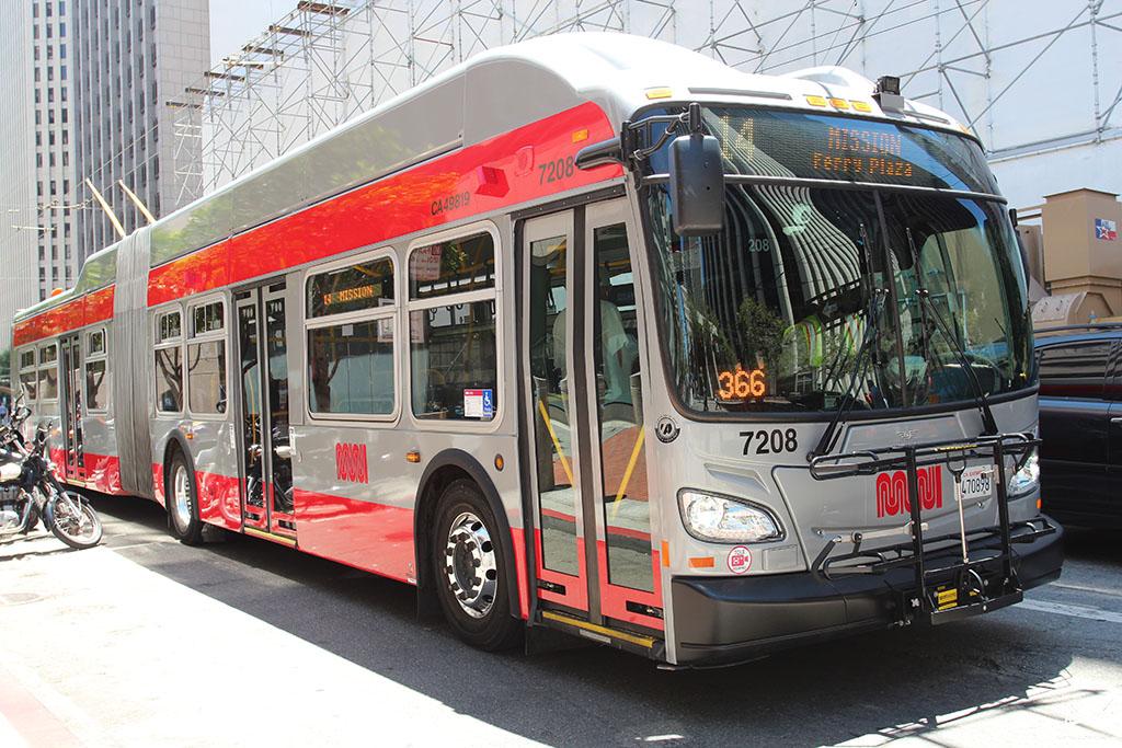 Ônibus em San Francisco