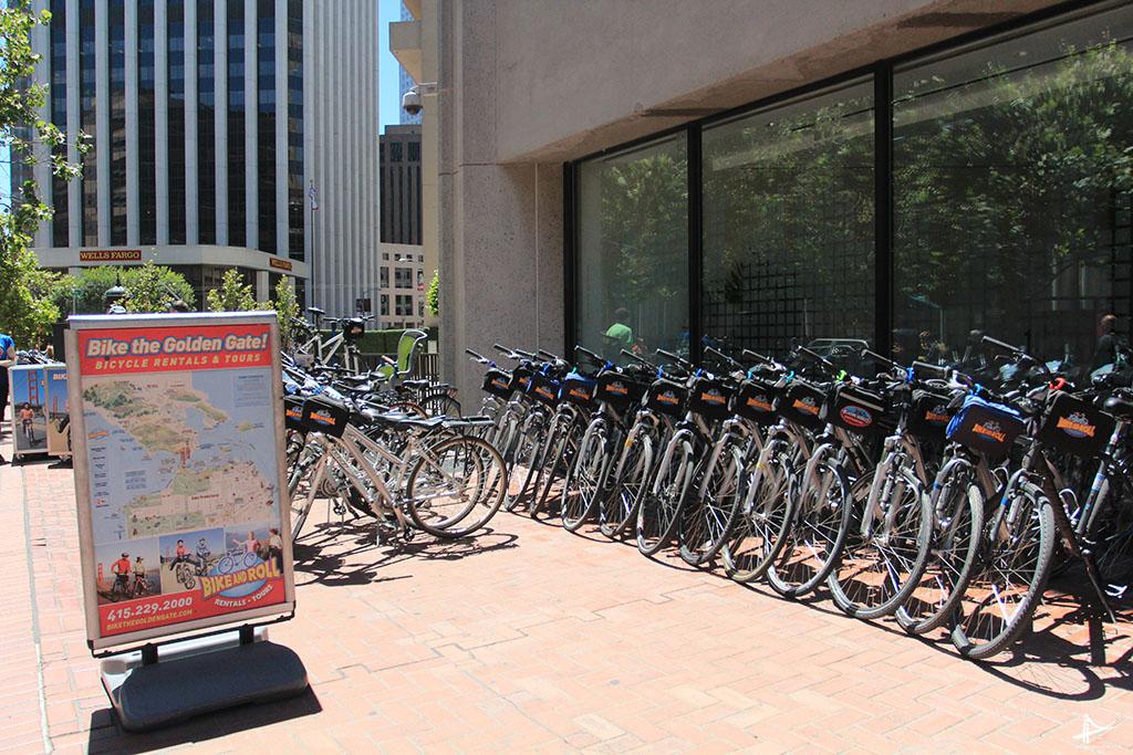 Aluguel de bicicleta em San Francisco