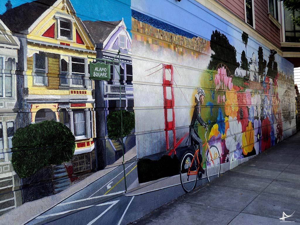 Arte pelas ruas de San Francisco