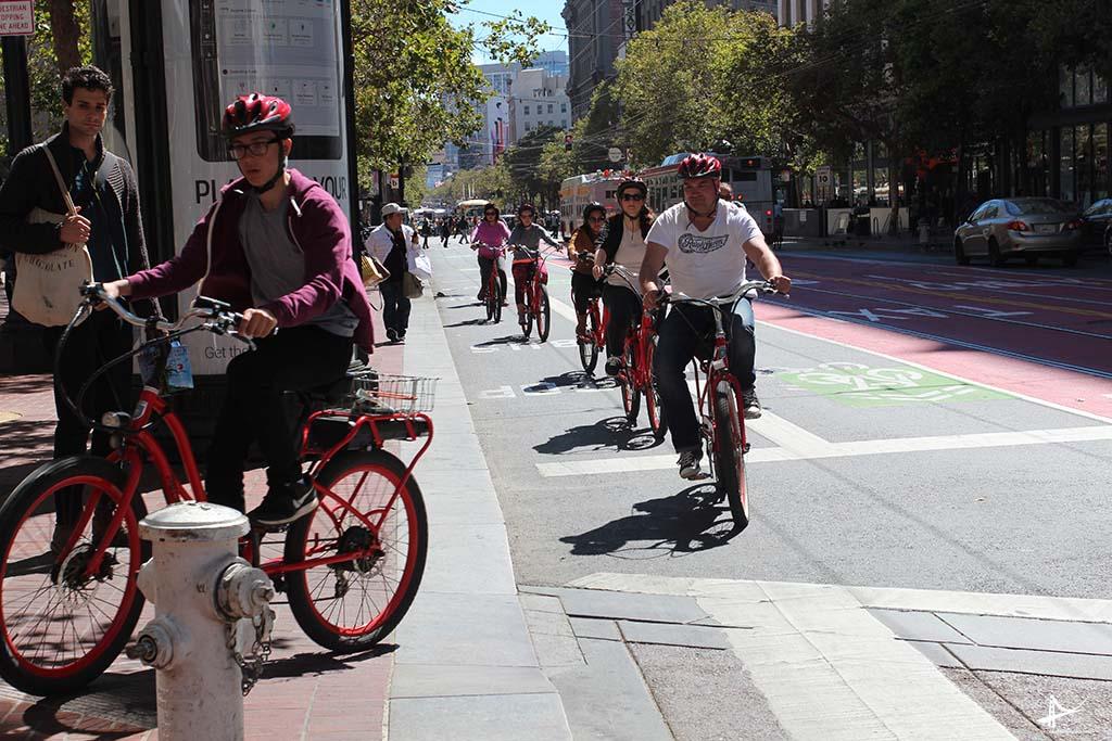 Ciclovias em San Francisco