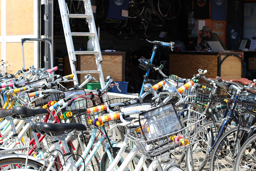 Loja de bike em San Francisco