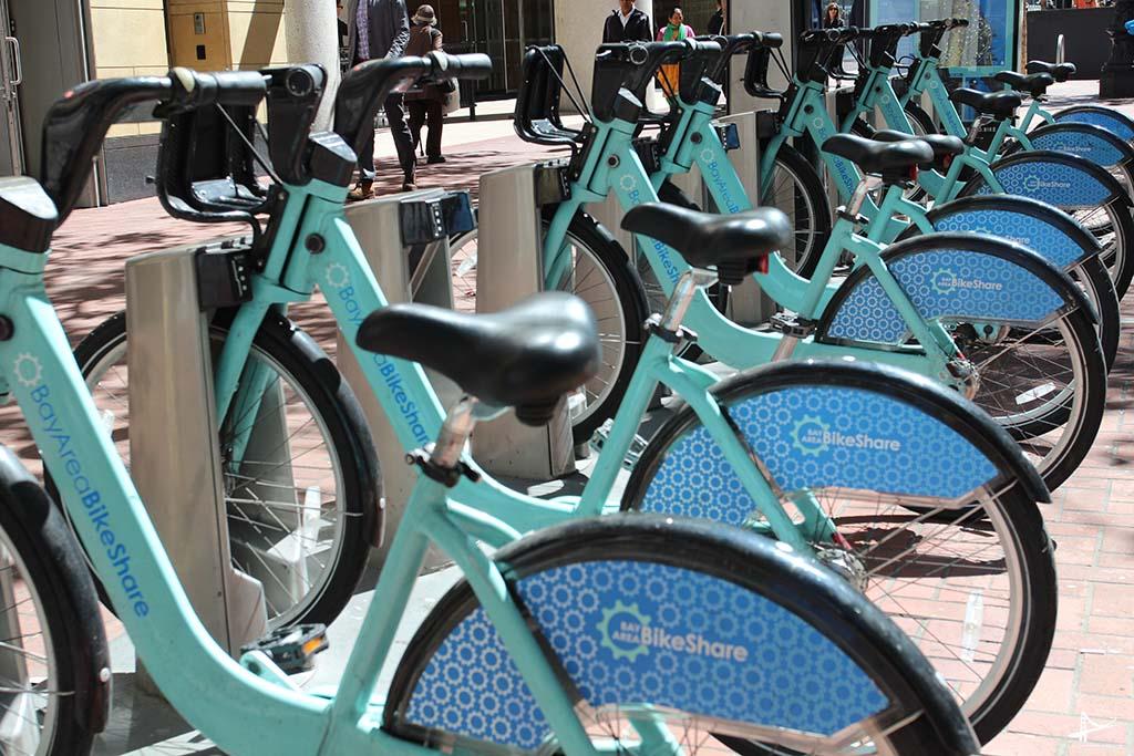 Programa de bicicletas compartilhadas em San Francisco
