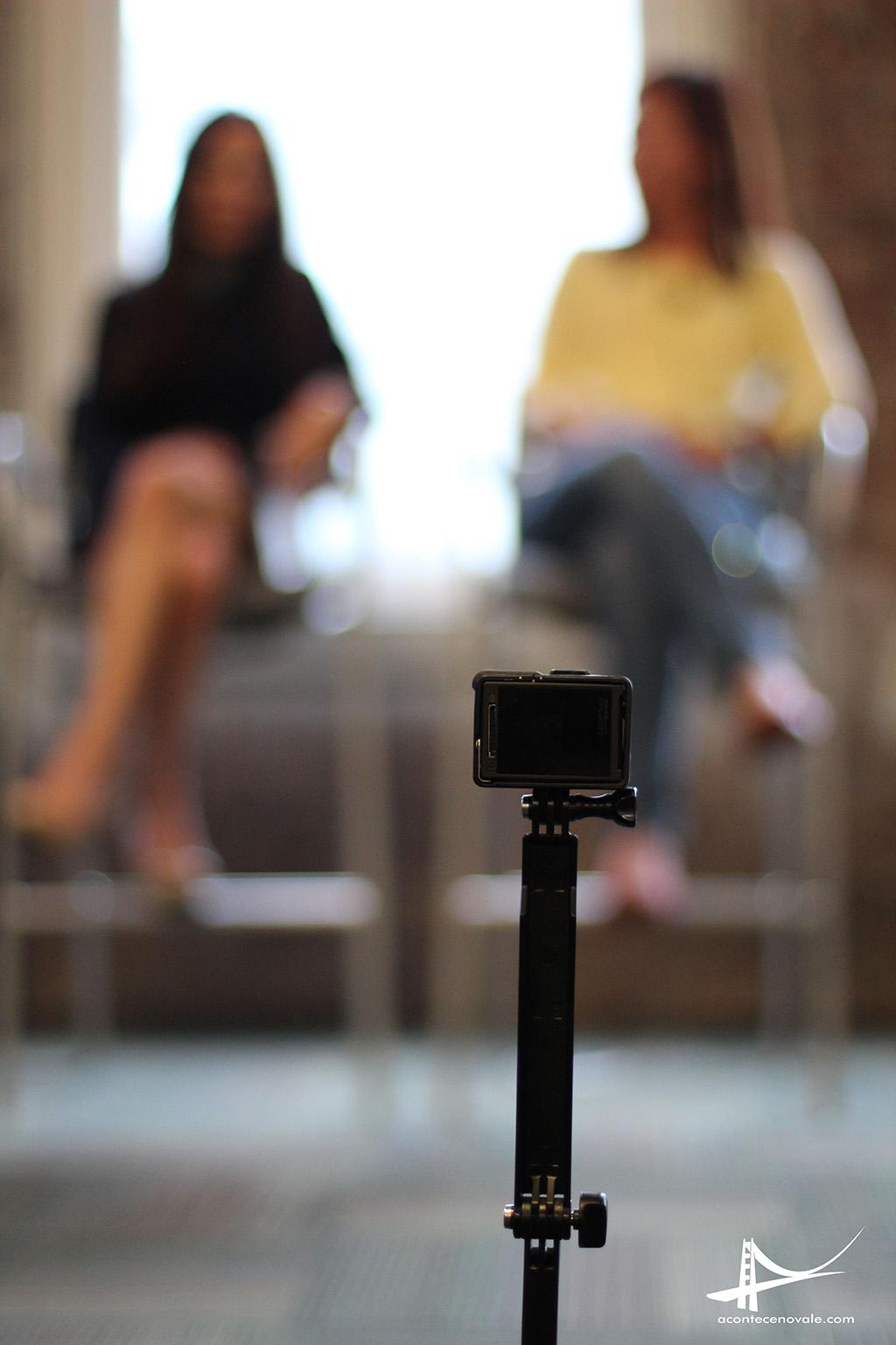GoPro registrando o evento na GoPro