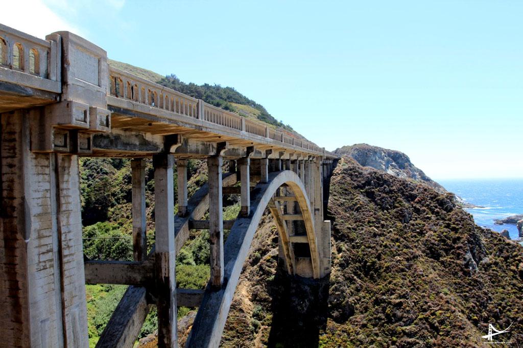 Pontes na Costa da California