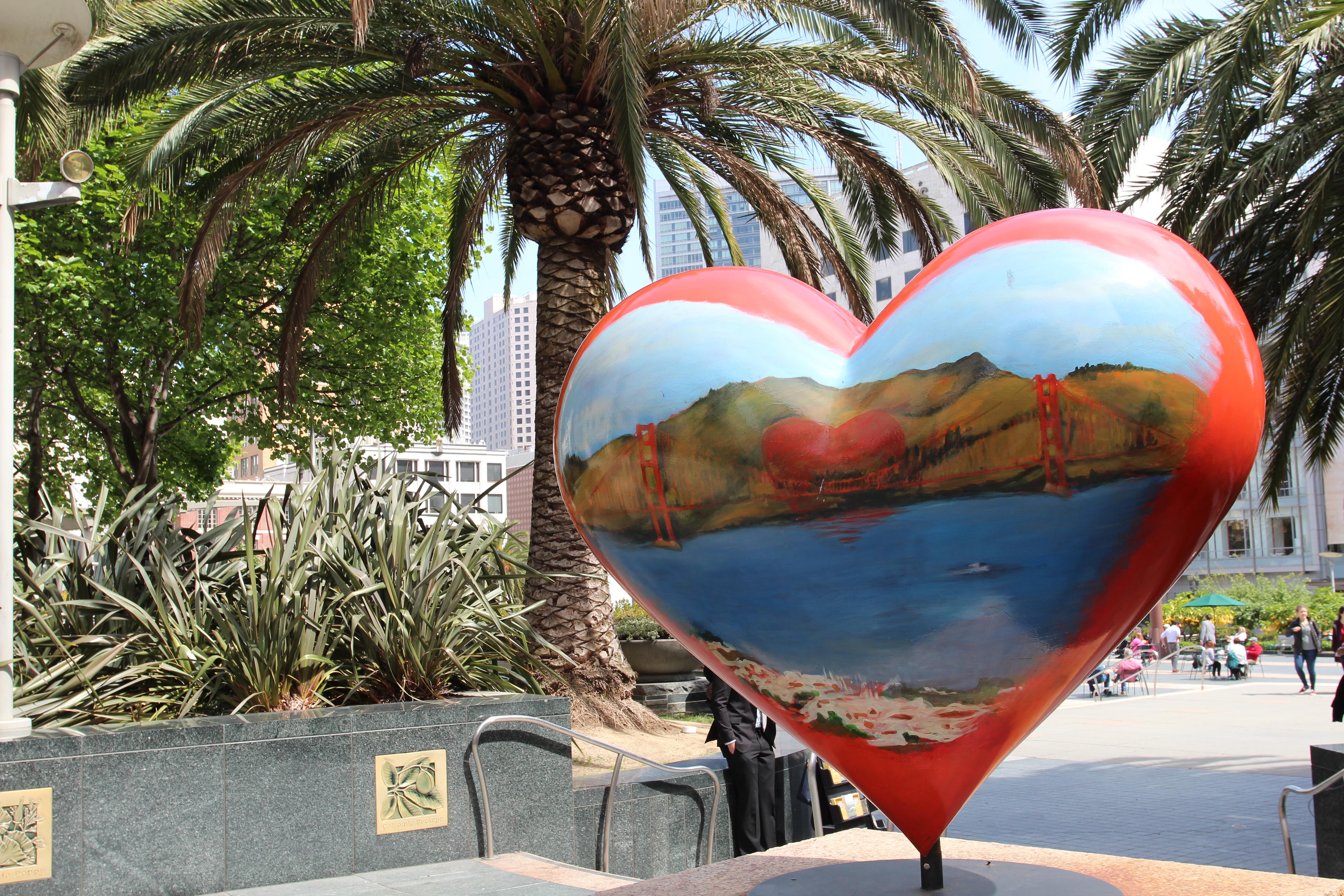 Corações Union Square
