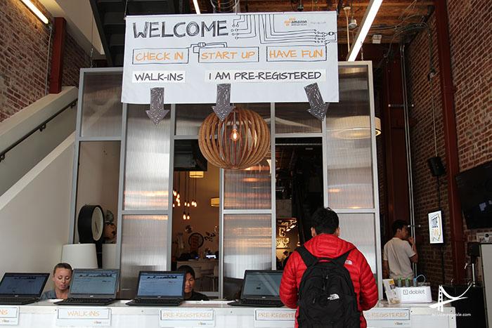 Recepção AWS em San Francisco
