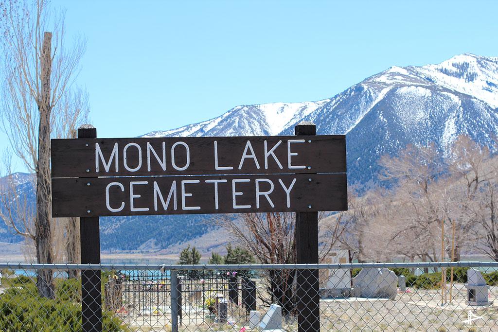 Mono Lake - Cemitério