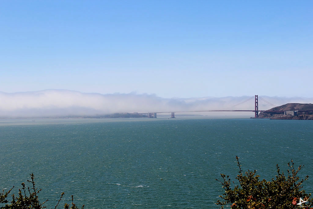 Golden Gate da Angel Island