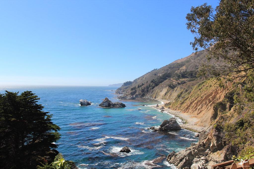 McWay Falls na Costa da California