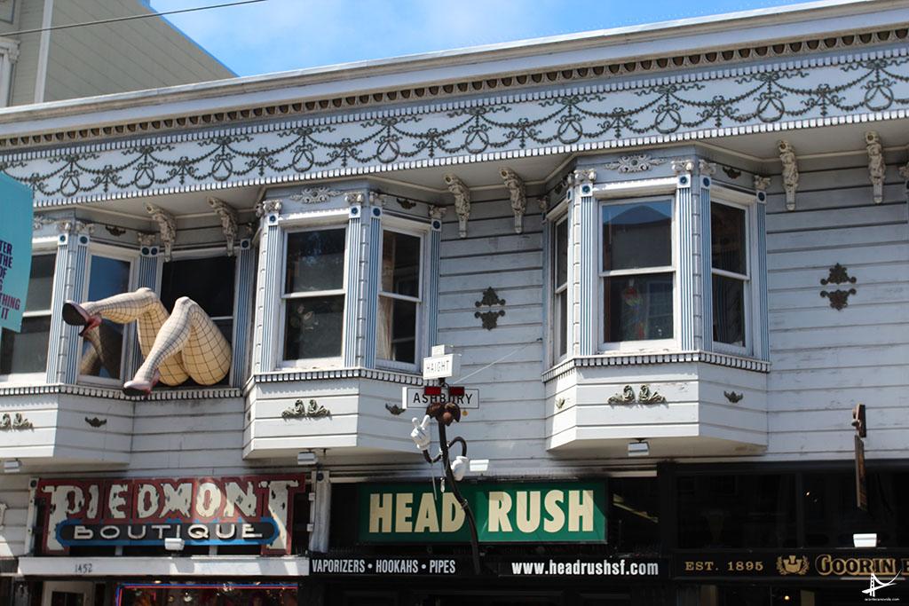 Haight_Ashbury em San Francisco