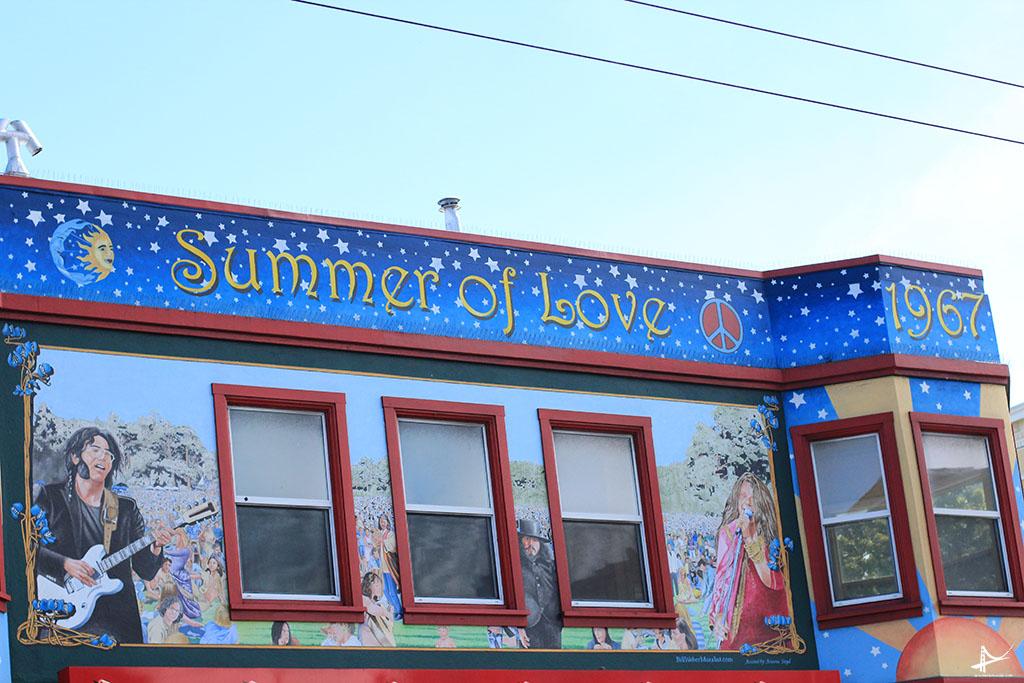 Summer of love - Restaurante na Haight