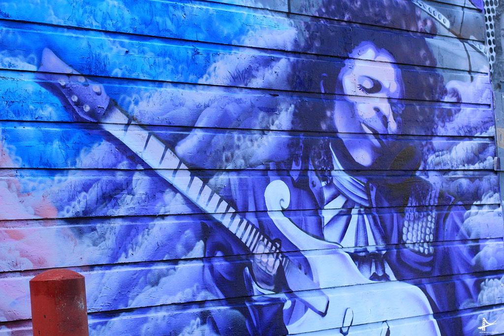 Arte nas paredes da Haight
