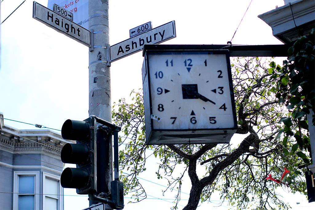 Haight- Ashbury - a esquina mais famosa de San Francisco