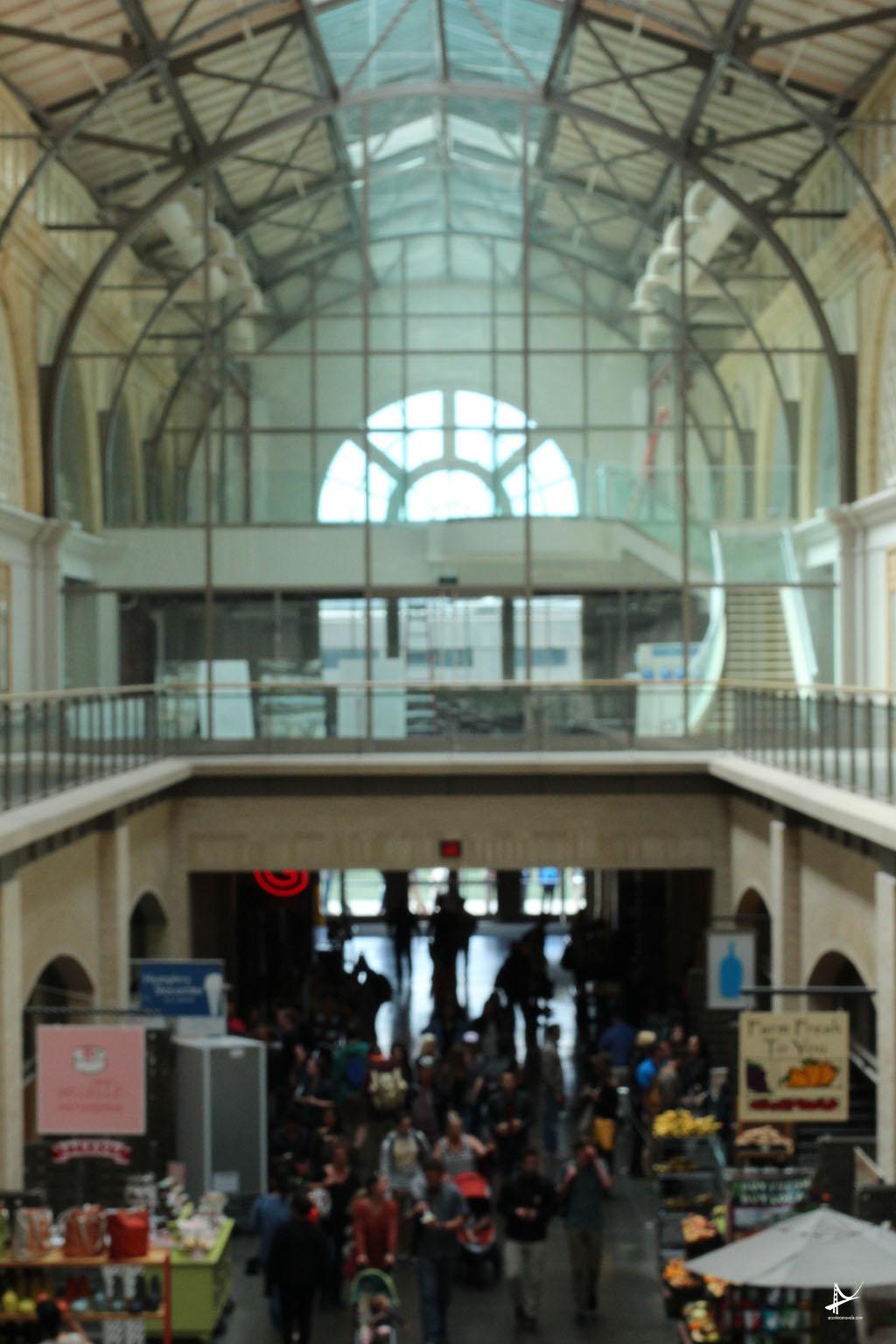 Ferry Building - vista do segundo andar