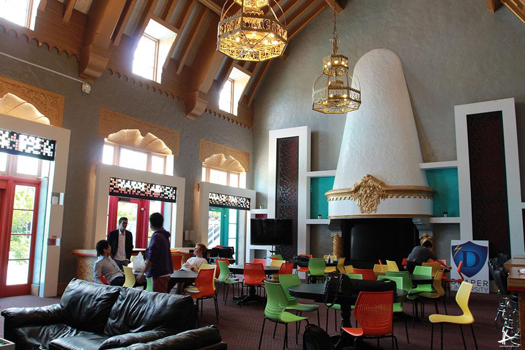 Salas de Aula da Draper University