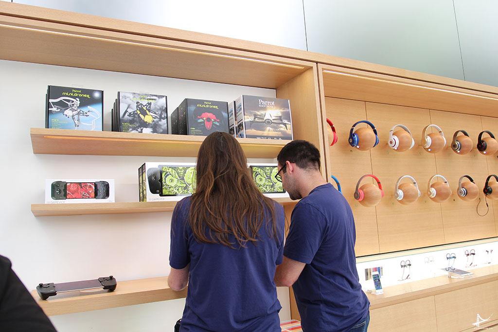 Nova loja da Apple em San Francisco