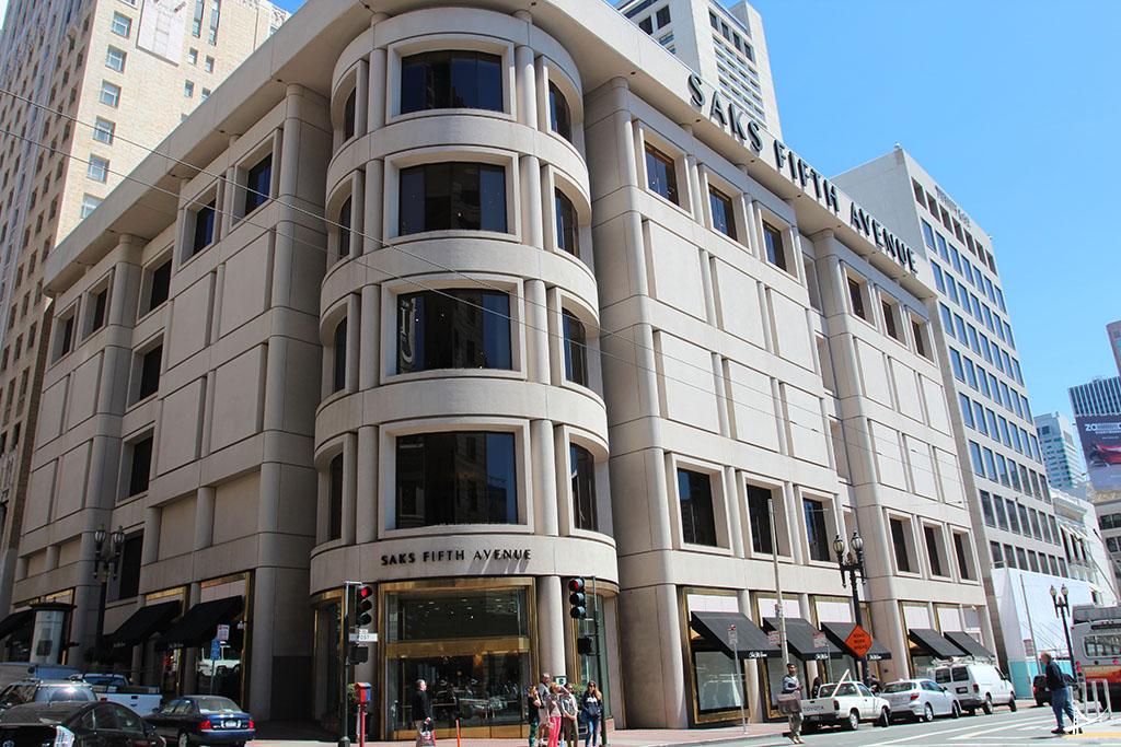 Loja da Saks Fifth Avenue na Union Square em San Francisco