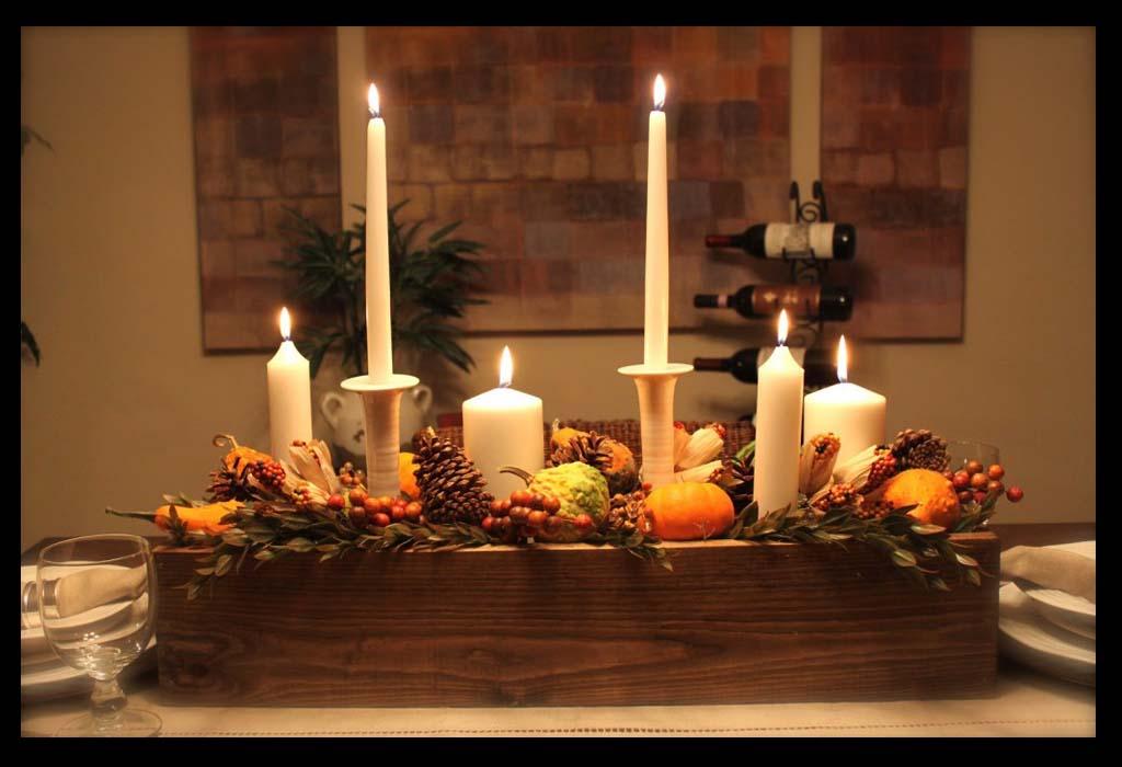 Decoração de Thanksgiving. Foto: Homeideasblog.com