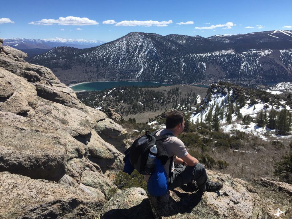Reversed Peak metade da trilha