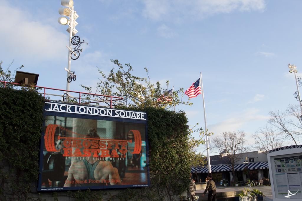 Jack London Square em Oakland