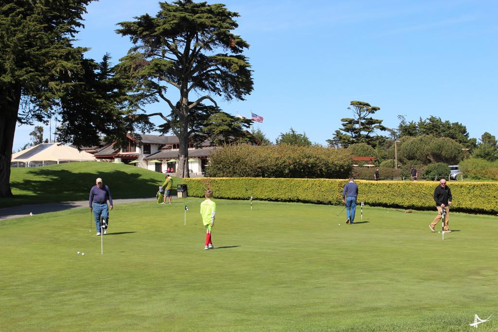 Campos de golfe no Presidio