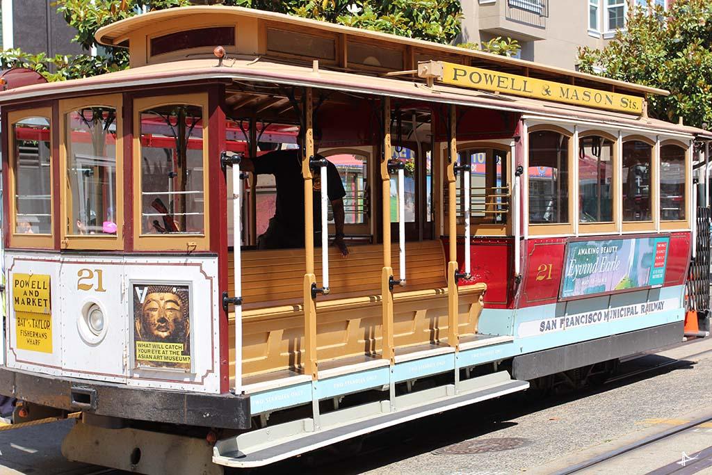 Cable car com o City Pass