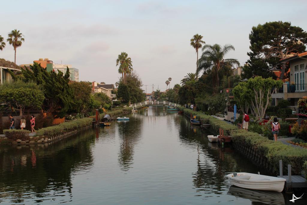 Canais em Venice