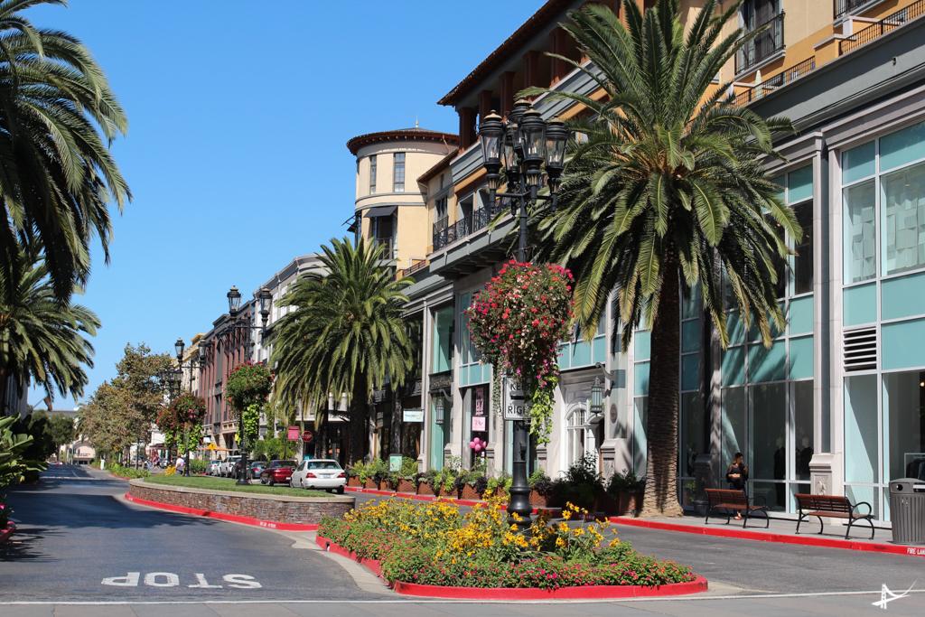 Santana Row em San Jo