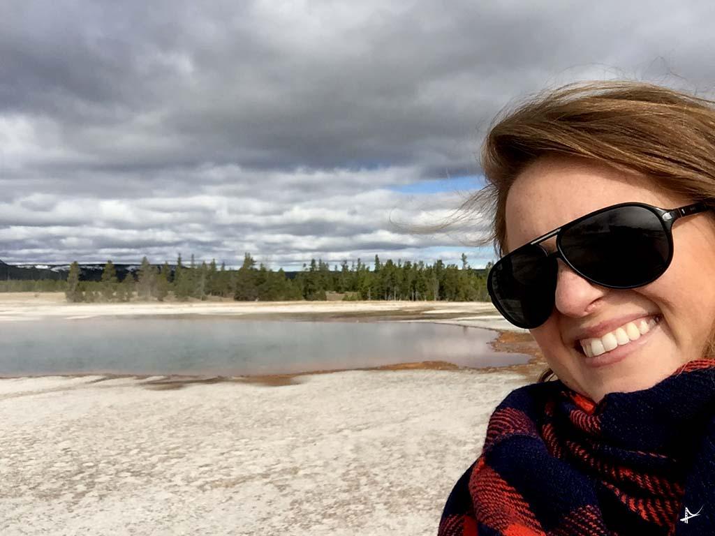 Geisers no Yellowstone