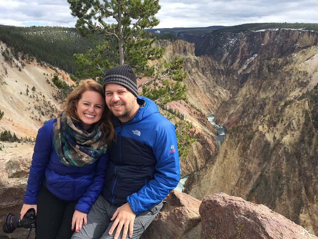 Grand Canyon do Yellowstone
