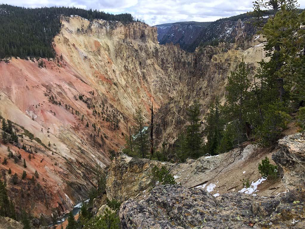 Grand Canyon no Yellowstone
