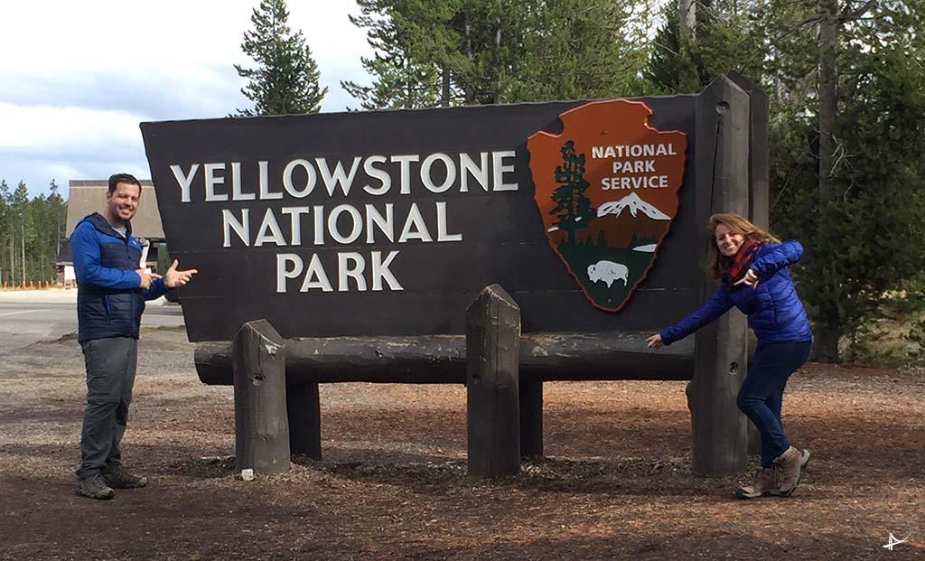 Entrada do Yellowstone