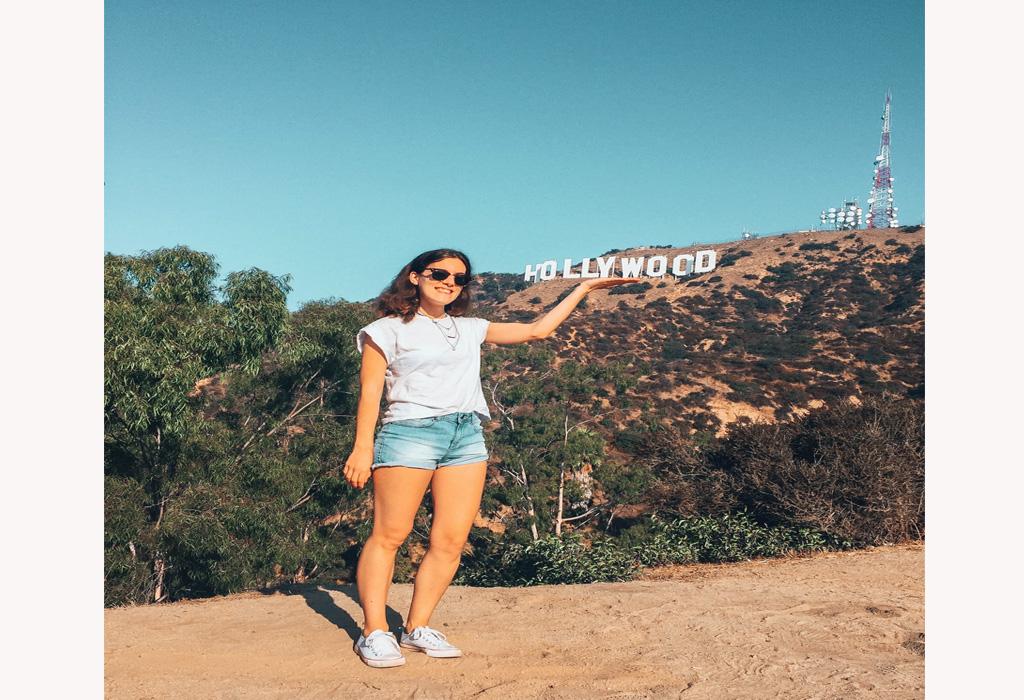 Krystel em Los Angeles