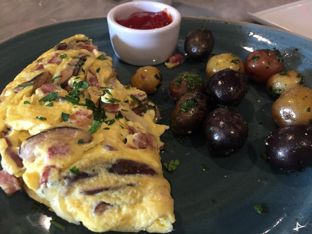 Breakfast no Verge