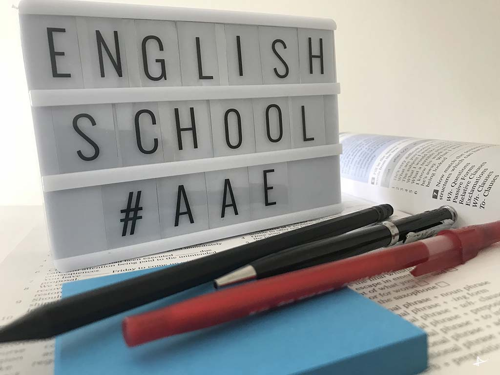 Escola American English Academy em San Francisco