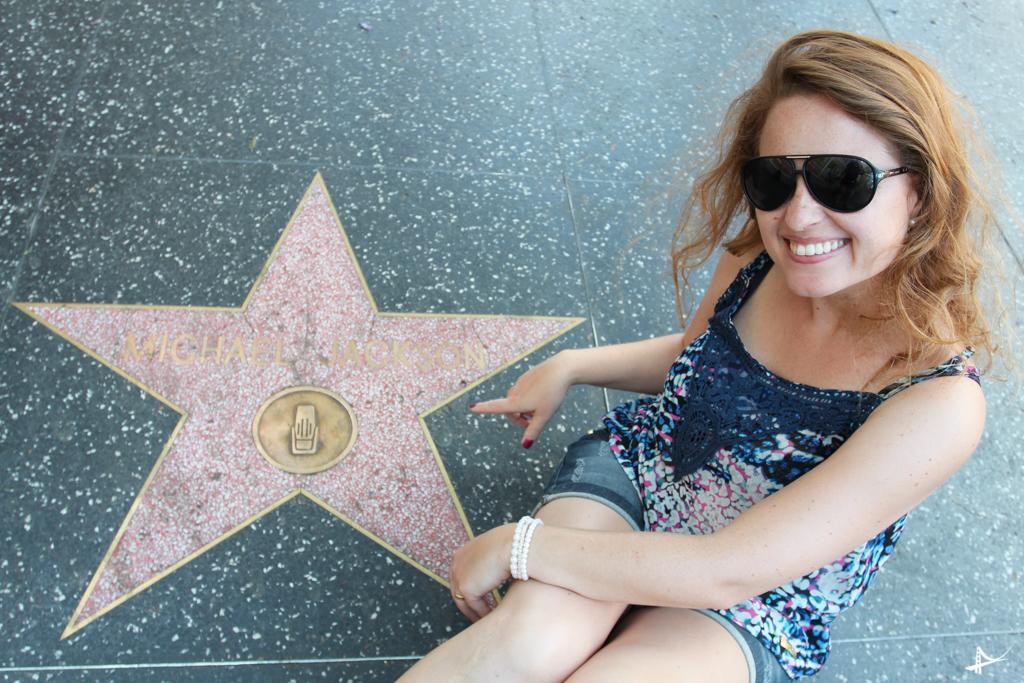 Calçada da fama em LA