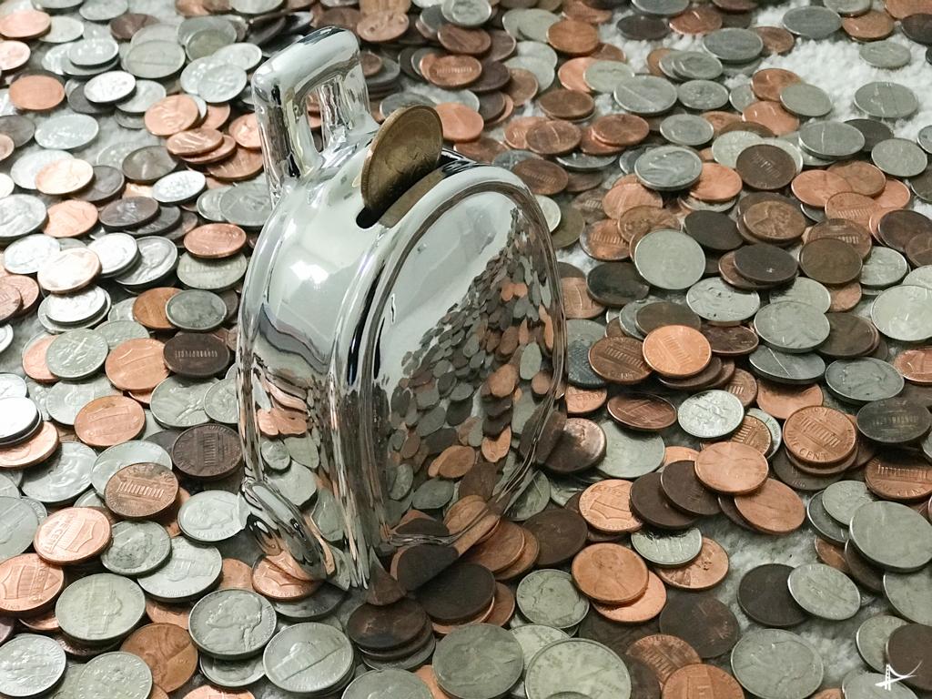 juntar dinheiro para fazer um intercâmbio