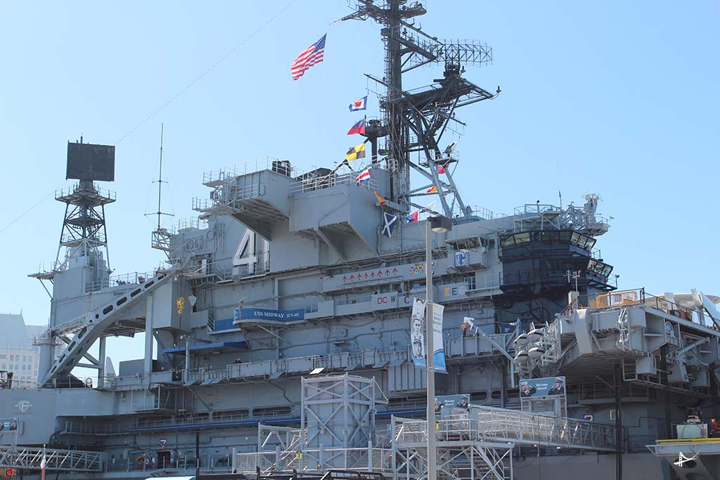 Porta Aviões USS Midway em San Diego