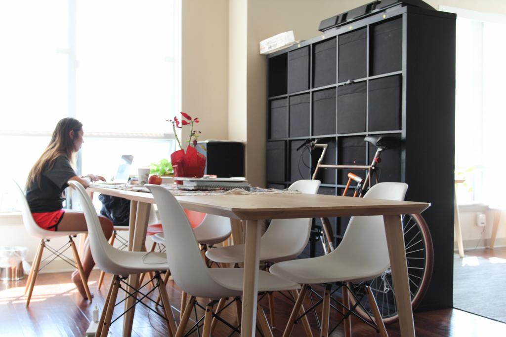 Exemplo de um dos apartamentos do Haas Living