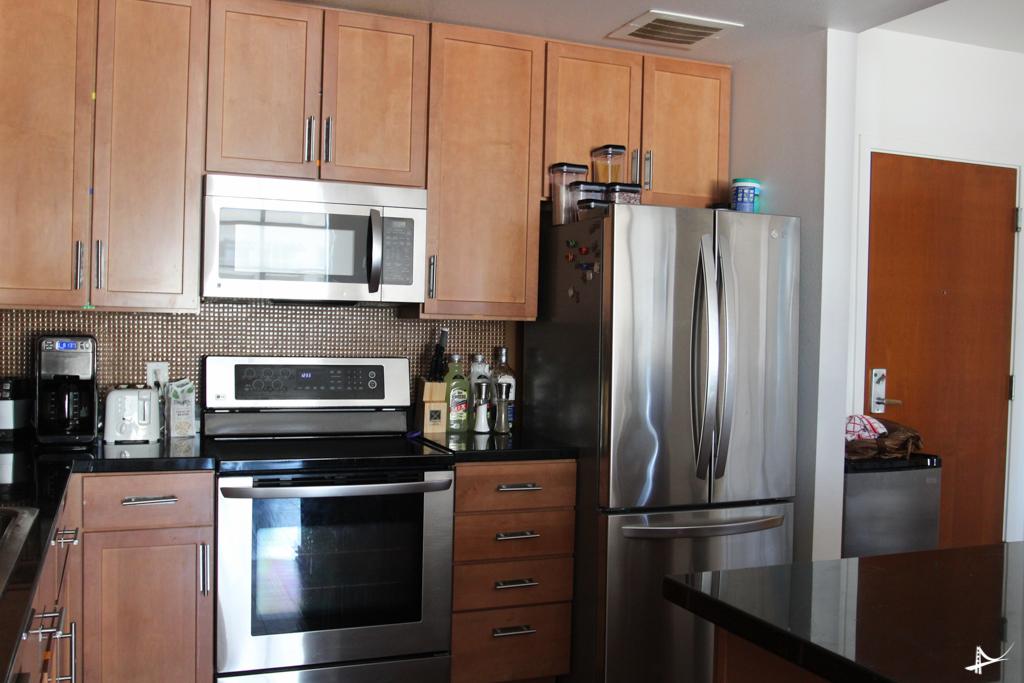 Cozinha do apartamento 2