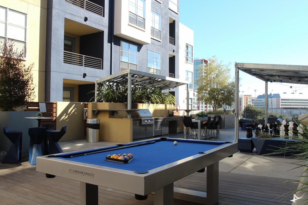 Estrutura do condomínio onde tem dois apartamentos do Haas Living