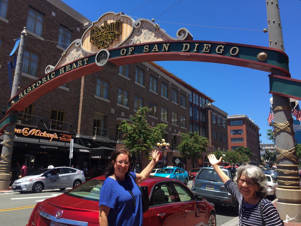 Gaslamp Square em San Diego