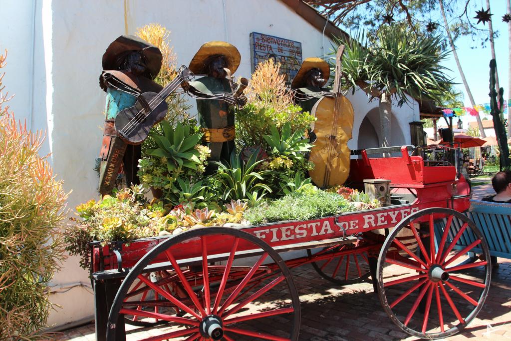 Fiesta De Reyes no Ols Town de San Diego