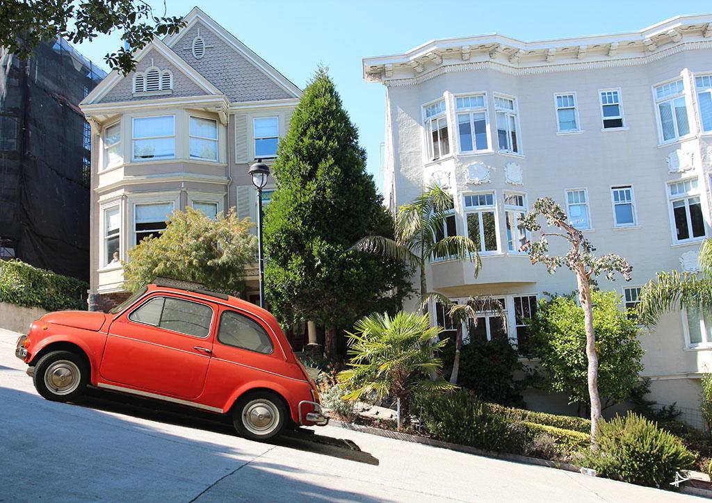 Roteiro em San Francisco de carro