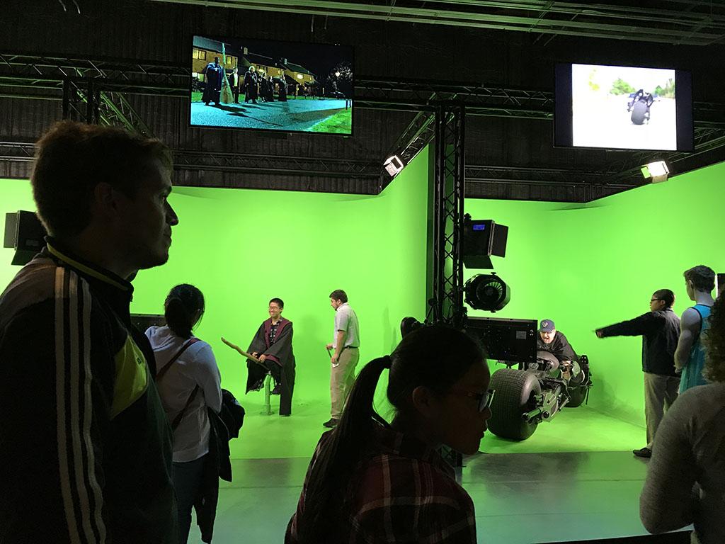 Visita na Warner em Hollywood