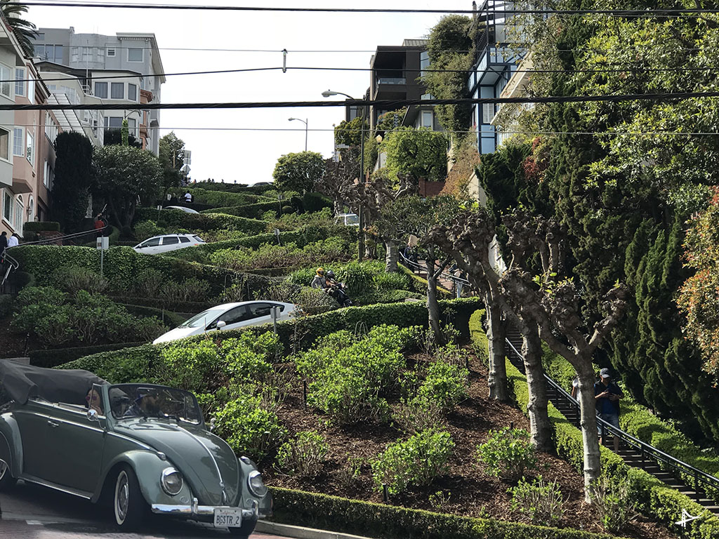 Lombard Street de carro