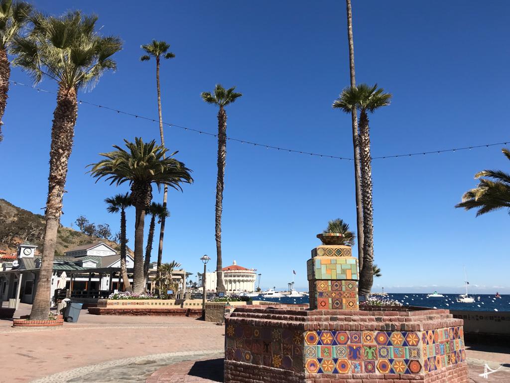 Centrinho de Avalon em Catalina Island