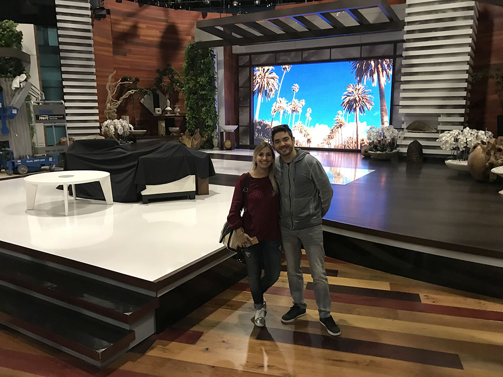 The Ellen Show no Warner