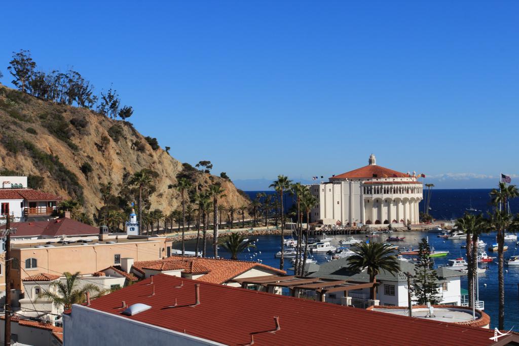 Vista do roof do Avalon Hotel